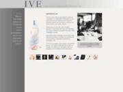 screenshot http://www.ive.fr/ imprimerie varoise d'étiquettes