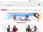screenshot http://www.izdeguiz.com/ Déguisements et jouets kermesse.
