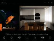 screenshot http://www.izoa.fr izoa, la boutique de l'art numérique
