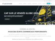 screenshot http://www.jack.fr jack in the box – spécialiste du proposal management
