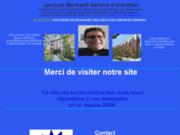 screenshot http://www.jacquesbertrand.com services d'entretien jacques bertrand
