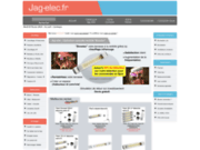 screenshot http://www.jag-elec.fr jag-elec, aménagements conforts high-tech
