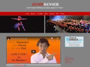 screenshot http://jaimedanser.fr téléchargement de musique