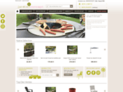 screenshot http://www.jardin-concept.com/ Articles de déco extérieur, jardin, terrasse et piscine