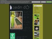 screenshot http://www.jardin-d-o.com jardin d'Ô