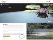 screenshot http://www.jardin-glanum.com les jardins de glanum
