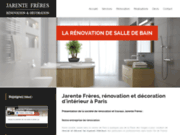 screenshot http://www.jarente-freres.fr jarente freres - travaux de rénovation et décoration d'intérieur et d'extérieur sur paris et l'ile de france