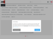screenshot https://jbkaudioshop.com/ site de vente en ligne de matériels audio pro, home studio