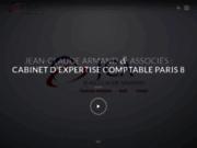 screenshot http://www.jcarmand.com jean-claude armand et associés, expert-comptable