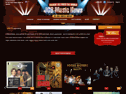 screenshot http://www.jcrmusicnews.com jcrmusicnews : cd, dvd, disques vinyls