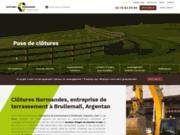 Entreprise de terrassement à Argentan et Caen