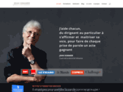 screenshot http://jean-sommer.fr/ Jean Sommer, coach vocal et expert de la voix