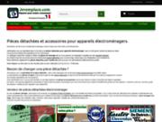 screenshot http://www.jeremplace.com vente pièces détachées, accessoire électroménager