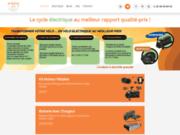 Vélos, cycles et trottinettes électriques au bon rapport qualité prix