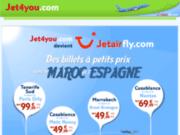 Vos billets d'avion pour le Maroc avec Jet4You