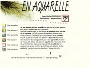 screenshot http://www.jimr.be en aquarelle