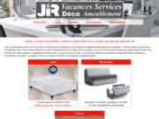 screenshot http://www.jirdeco.com jir deco - vacances services ameublement