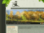 screenshot http://www.jlaurens.com domaine viticole j. laurens