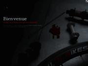 screenshot http://www.jlbikes.com/ jlbikes - vente en ligne vis en titane