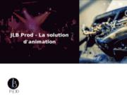 screenshot http://jlbprod.com animations d'événements : mariage, soirée d'entreprise sur Lille et Paris