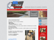 screenshot http://www.jmbmetal.fr jmb métal: métallerie inox artisanale - strasbourg