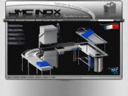 screenshot http://www.jmcinox.com fabricant de mobilier inox