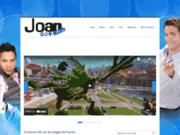 screenshot http://www.joanofficiel.com Blog de Joan