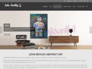 screenshot http://www.johnbeckley.com artiste peintre john beckley