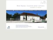 screenshot http://www.jonzacsejour.fr/ présentation de la résidence mon séjour à jonzac