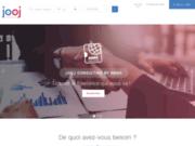 screenshot https://jooj-consulting.com/ Mise en relation de freelances et porteurs de projets