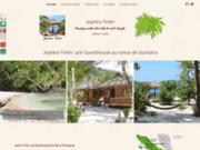 screenshot https://www.jophira-tintin.com Guesthouse à Sumatra en Indonésie