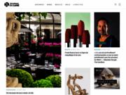 screenshot http://journalduluxe.fr/ média de luxe