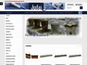 screenshot http://www.judaiculte.com judaica et produits de religion juive d'israel