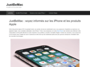 Just be Mac, le blog pour les fans Apple