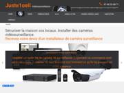 screenshot http://www.juste1oeil.com Devis et installations de caméra surveillance avec www.juste1oeil.com