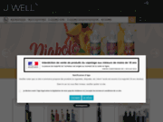 screenshot https://www.jwell-lessables.fr/ Boutique J Well Les Sables