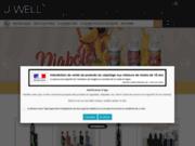 screenshot https://www.jwell-lessables.fr/ Boutique J Well Les Sables
