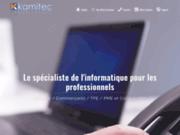 screenshot http://www.kamitec.com kamitec informatique est une ssii