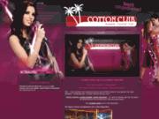 screenshot http://www.karaoke-cottonclub.com/ karaoké, brasserie et cocktails, le cotton club au luxembourg.