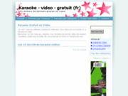 screenshot http://www.karaoke.video.passion.pro/ karaoké passion