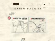 screenshot http://www.karimbaggili.be karim baggili