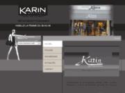 screenshot http://www.karinboutique.com/ mode femme, prêt à porter tournai