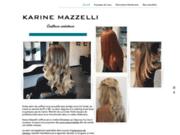 screenshot https://www.karinemazzellicoiffure.fr/ Salon de coiffure