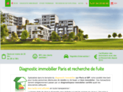 screenshot http://www.kasa-diagnostics.fr Diagnostic immobilier