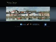 screenshot http://www.kassape-sanson.com artiste peintre saint valery