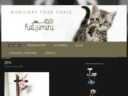 Katzimini, création de mobiliers pour chats