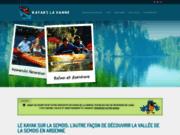 screenshot http://www.kayakslavanne.be kayaks la vanne - location de kayak, canoë en belgique