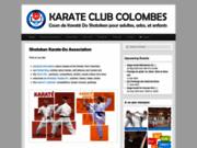 screenshot http://kccolombes.free.fr club de karaté à colombes : cours kata et combat