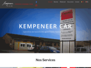 screenshot http://www.kempeneercar.be carrosserie kempeneer car.