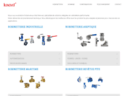 screenshot http://www.kenovel.fr kenovel, fabrication de tuyau flexible chauffant électrique pour dépotage et analyse de gaz